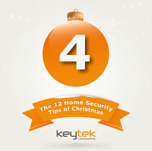 Tip 4 of The 12 Home Security Tips of Christmas…