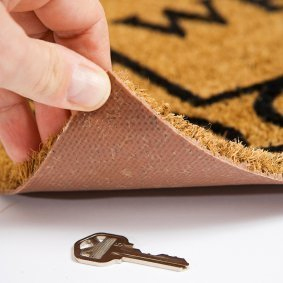 Over 20% of Britons still leave a spare key hidden outside of their property