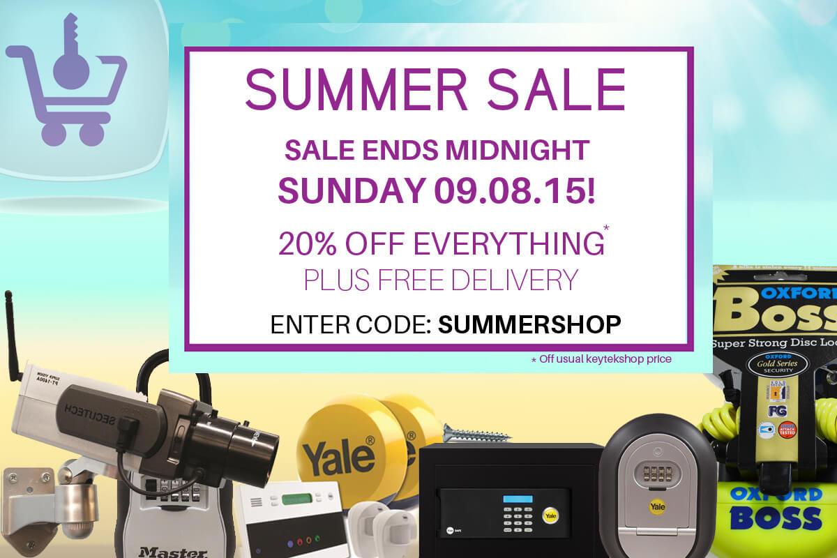 KeytekShop Summer Sale ends Sunday!