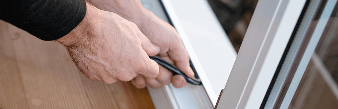 Fixing a upvc window