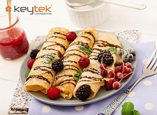 Be extra flippin' careful this Pancake Day