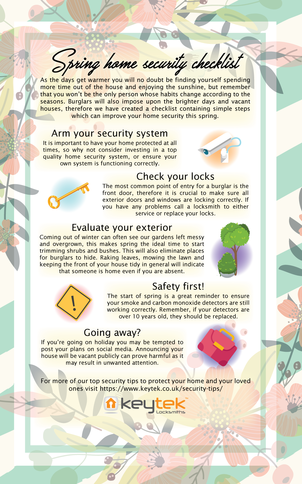 Spring security checklist