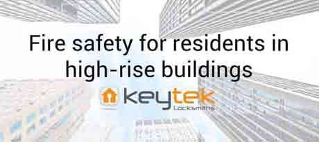 Fire safety for residents in high rise buildings