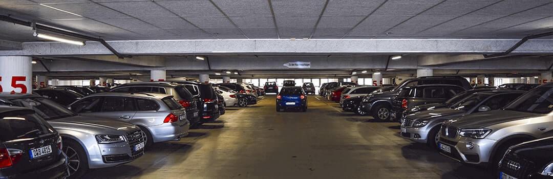Flat garage