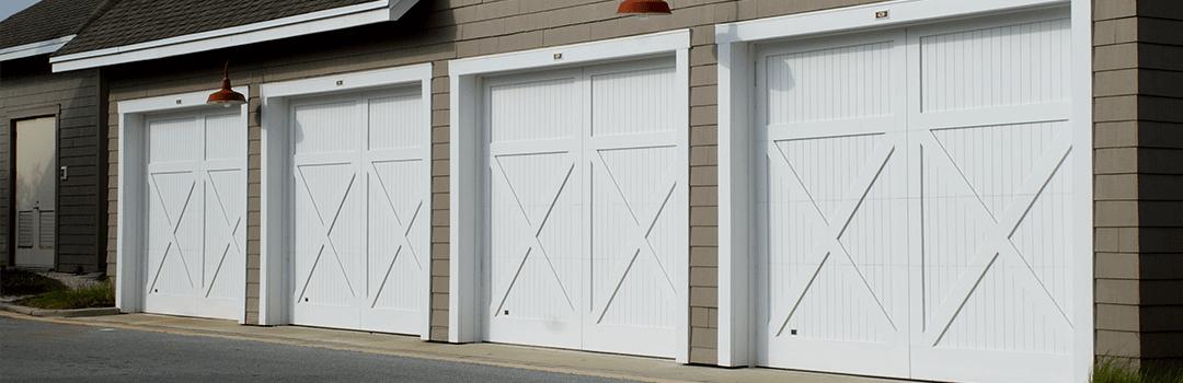 garage doors white