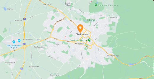 cheltenham map locksmith