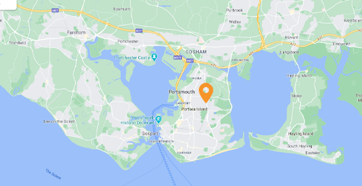portsmouth locksmith map