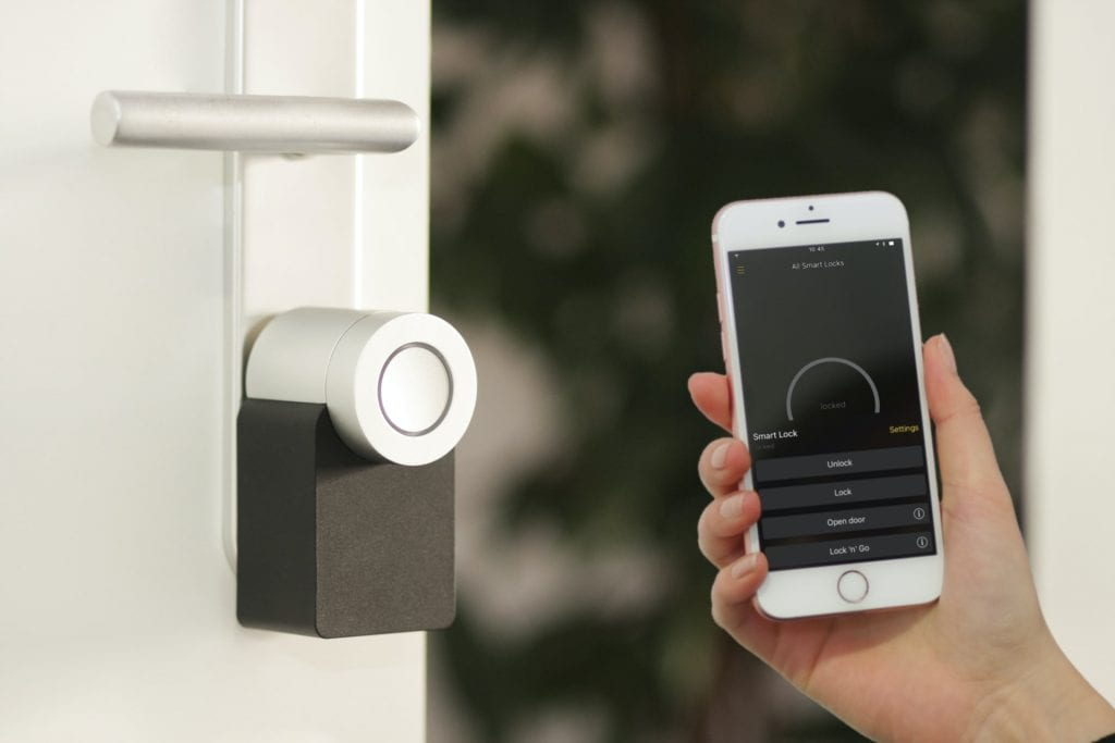 smart locks smart phone