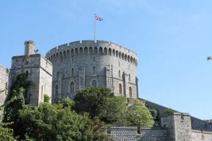 Windsor Castle from an angle