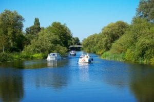 st neots river with boats