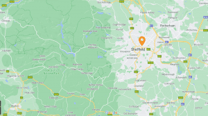 sheffield map location