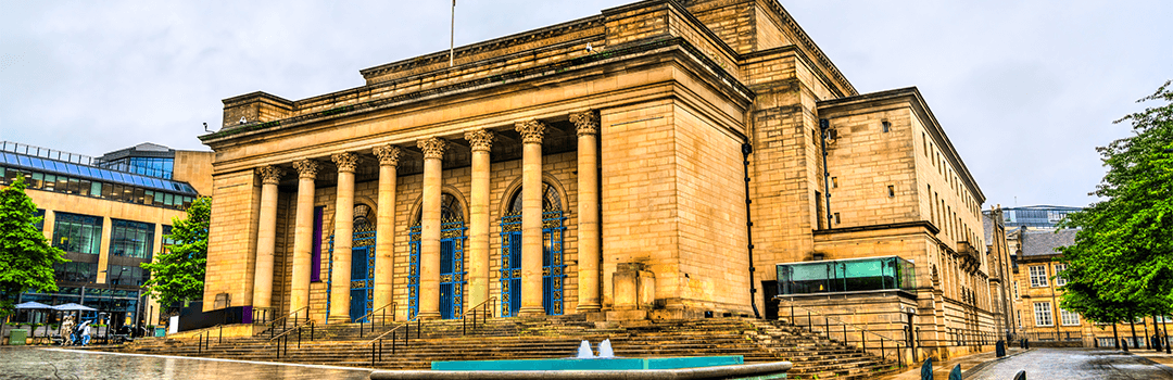 city hall in sheffield